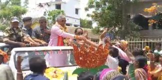 the election promotion of dilip ghosh