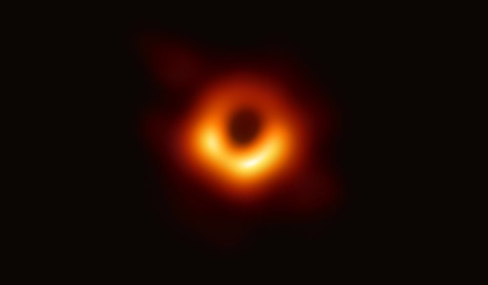 the picture of mysterious Black hole