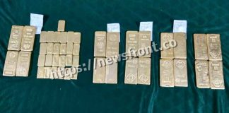 Arrested six with gold at shiligudi