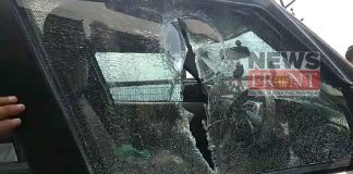 Attack on bjp candidate vehicle at Darjeeling