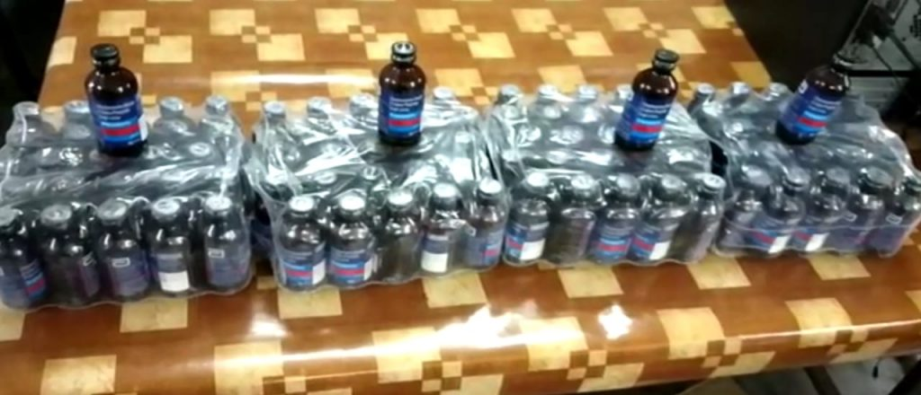 Banned Phensidyl recovered at on the border of Bengal-Bihar