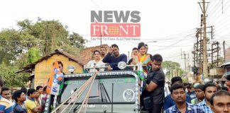 Campaign of tmc at tamluk