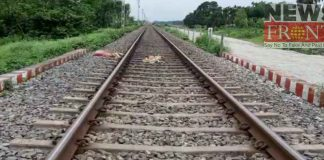Death of unidentified old woman at hit by train