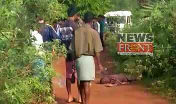 Died one at elephant attack in jhargram