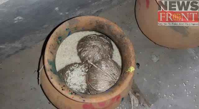 Rescued bomb from tmc party office