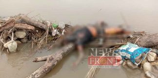 Rescued dead body of Young girl from torsa river