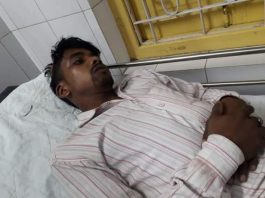 eight injured in bjp and tmc fight