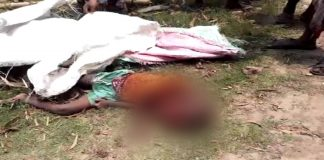 five years old child dead on bus accident