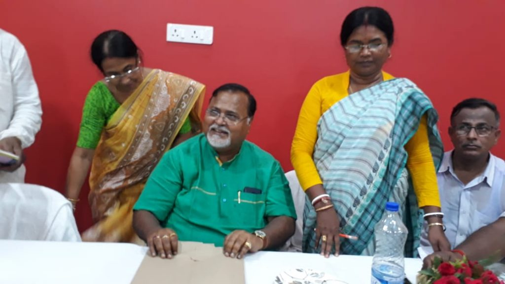 partha says three strategy of bjp in exit poll
