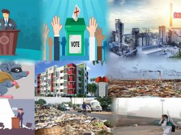 pollution all parties silent in the election