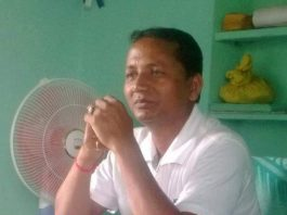 president of panchayat resign after threat