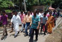 the bjp support to prison staff