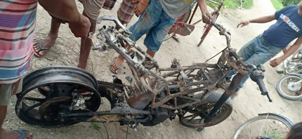 the boy injured on bike accident