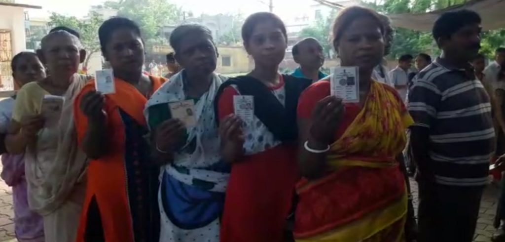 the election commission successful to peaceful vote