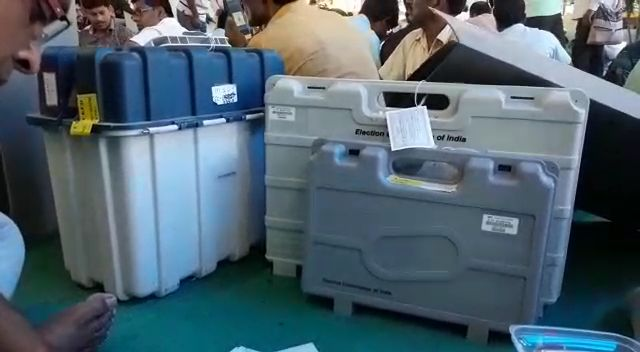 the election in two booth