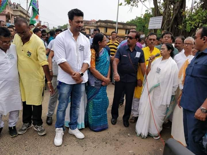 the election promotion of chief minister mamata banerjee