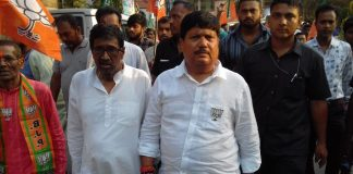 the heavy fight of barrackpore lok sabha center