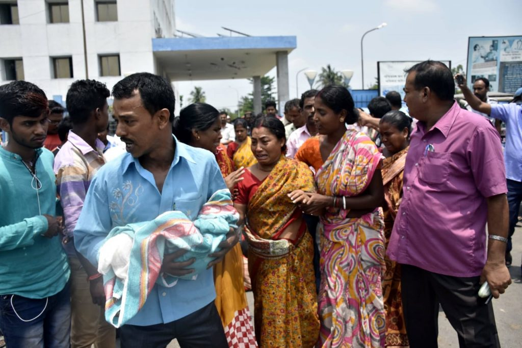 the new born baby dead for Negligence