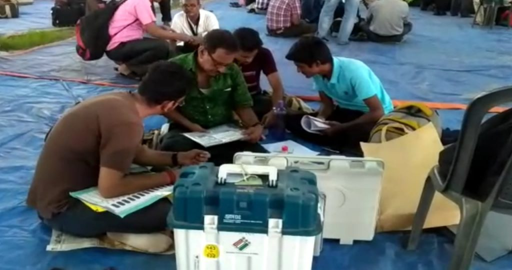 the preparation of last phases of vote