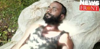 Agitation surrounding the political identity of rescued dead body