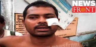 Attack on bjp worker accused tmc