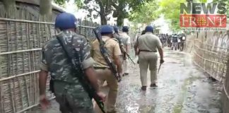 Injured police by attack of antisocial