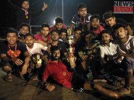 Merin orange club champion of young Premier cricket league