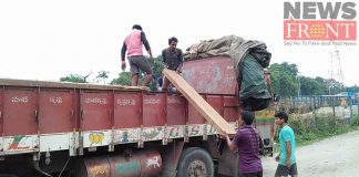 Rescued smuggle wood at shiligudi