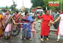 locality protest for drinking water