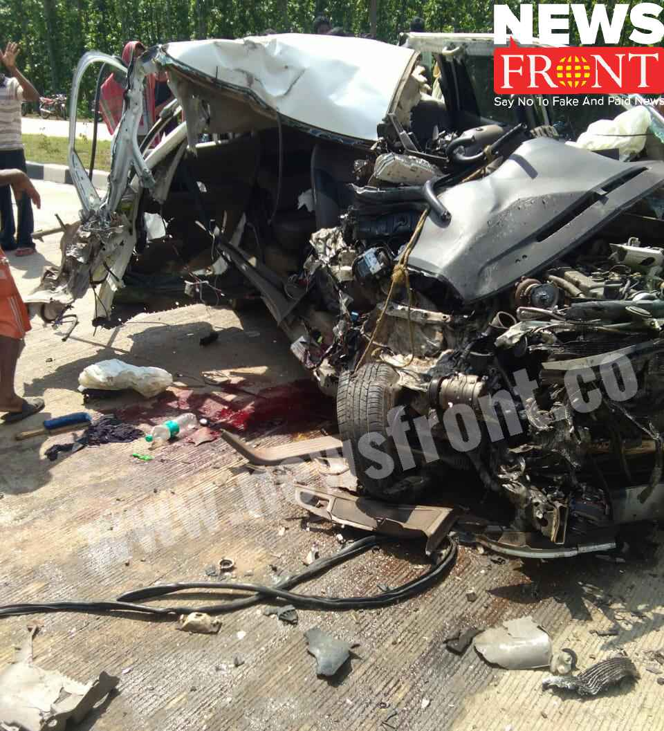 road accident at jhargram | newsfront.co