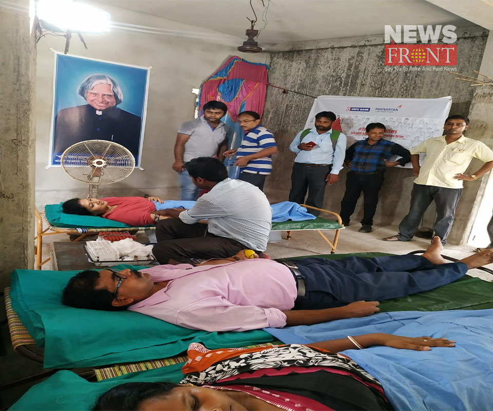 the blood donation camp2