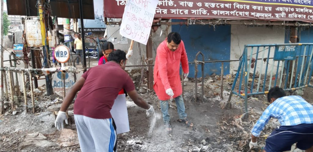 the cleaning camping on world environment day