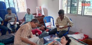 blood donation camp on birthday | newsfront.co