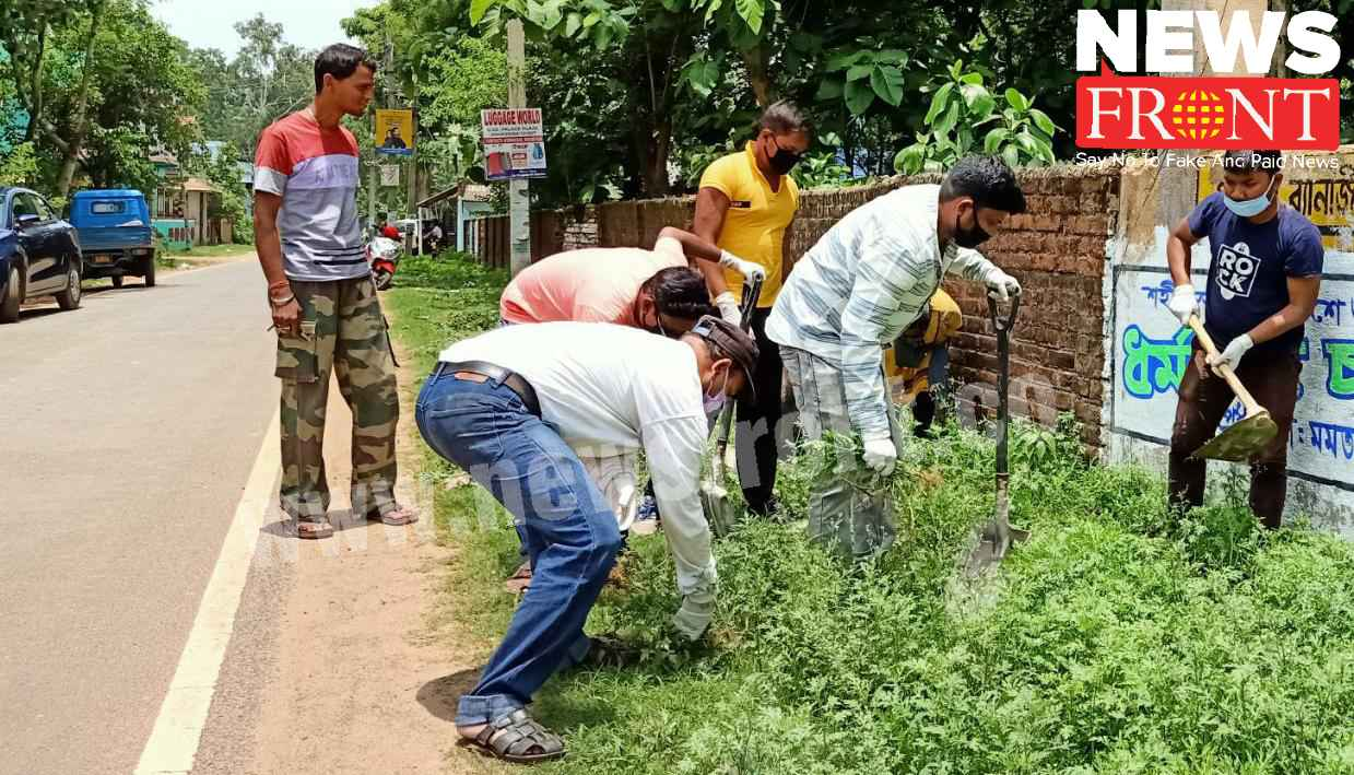 parthenium cleaning mission | newsfront.co