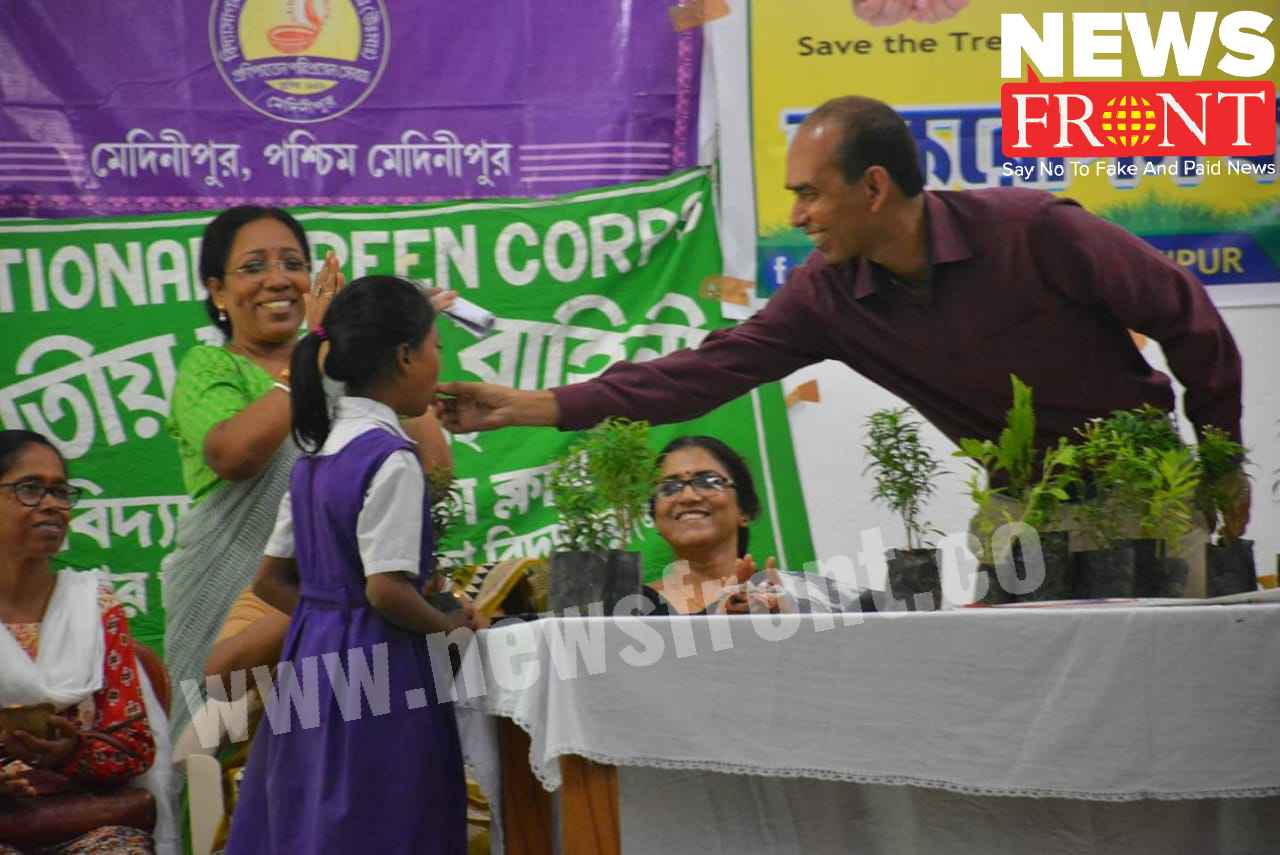 plant distribution to the students | newsfront.co