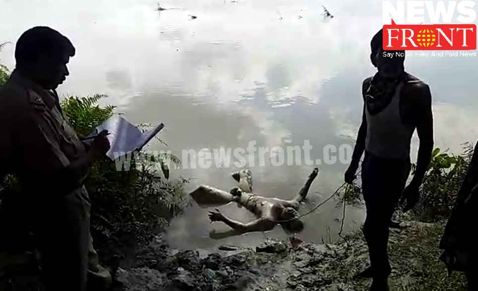 rescued dead body from torsa river | newsfront.co