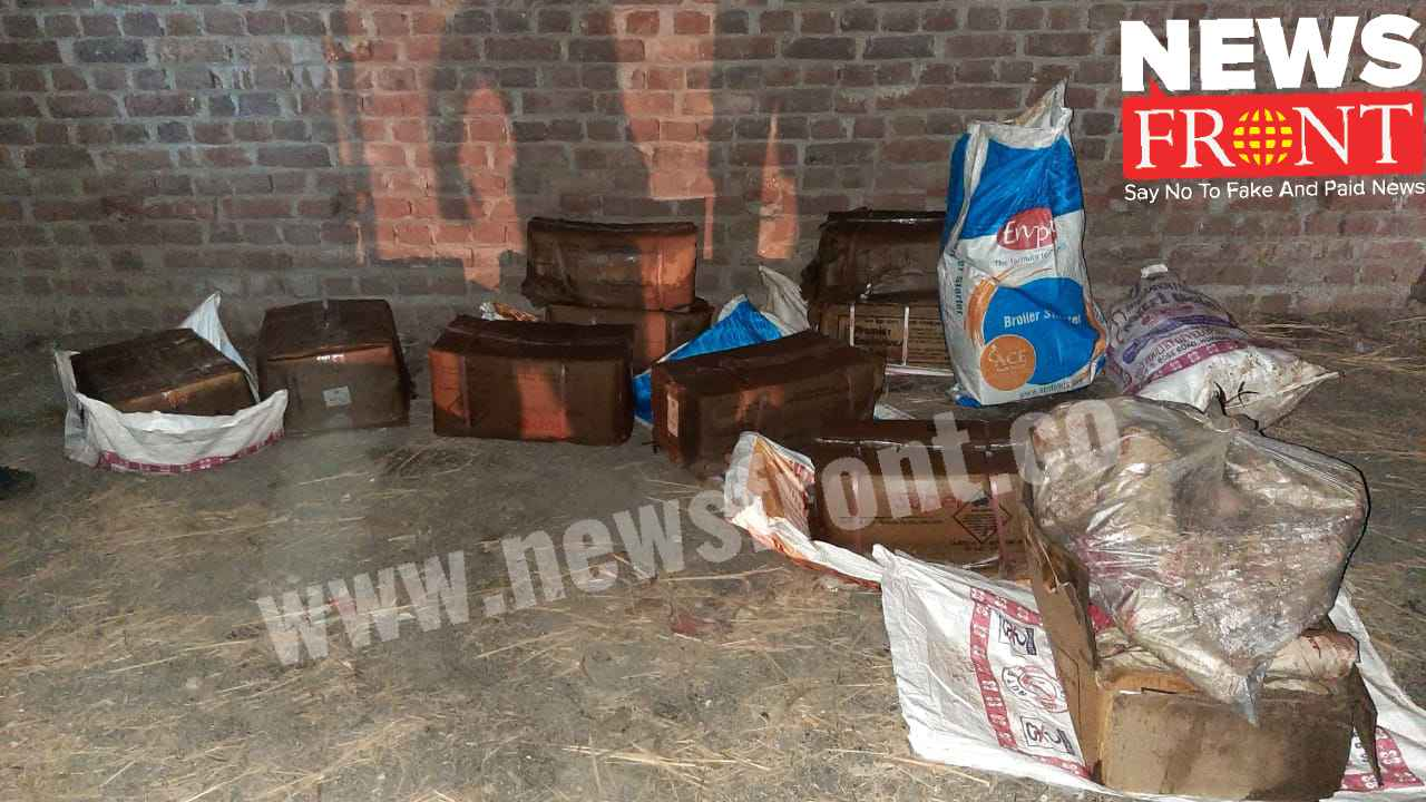 rescued huge explosive at Rampurhat | newsfront.co