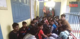 rally of abvp | newsfront.co