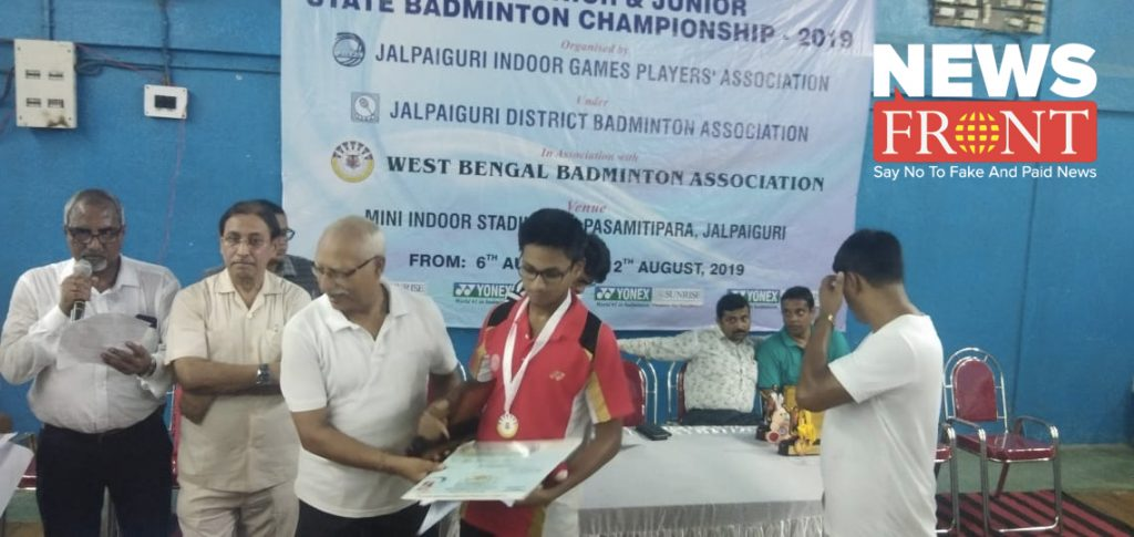 Ayan runners in state Badminton Competition
