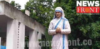 Neglected mother Teresa at jhargram district hospital | newsfront.co