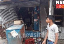 accusation of vandalised store against bjp | newsfront.co