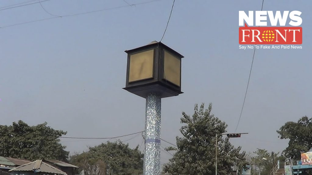 balurghat bus stand watch has stopped