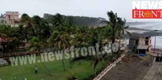 embargo on sea bathing at digha | newsfront.co