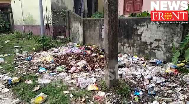 garbage beside the field | newsfront.co