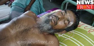 Allegations of assault tmc workers against bjp   newsfront.co
