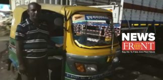 Auto driver made a mark on humanity