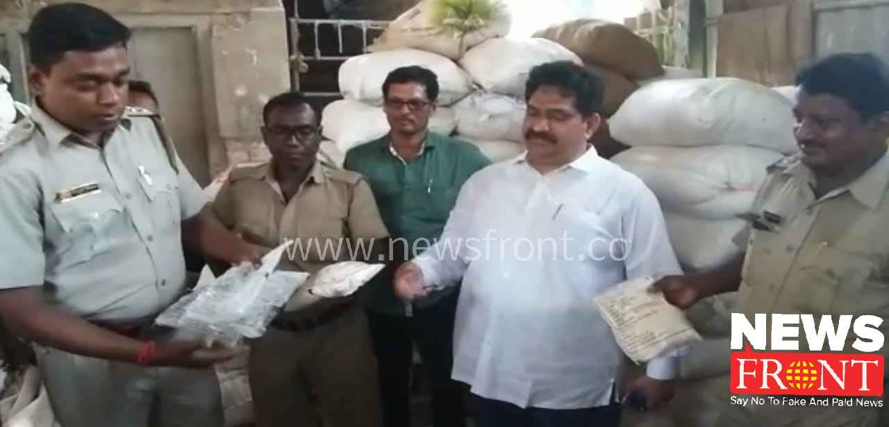 Food officer raid ration store | newsfront.co