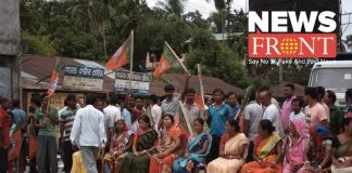 Heated Dinhata in political violence