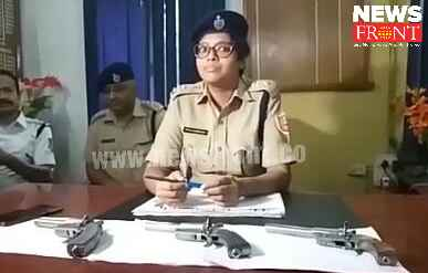 arrested four with firearms at fulbari   newsfront.co
