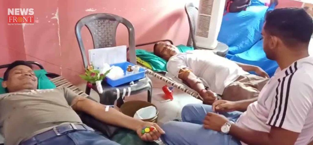 blood donation camp of inttuc | newsfront.co
